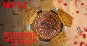 Пирог и суп в стиле сериала «Очень странные дела»
