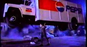 Франкенштейн украл грузовик с Пепси