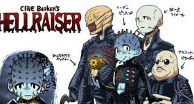 Герои ужасов в образе персонажей манги