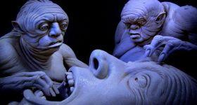 Страшные скульптуры Ивэна Кэмпбелл