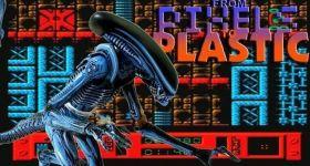 Фигурка: Пес-чужой из игры Alien 3