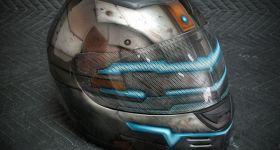 Мотоциклетный шлем Dead Space