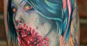 Зомби-татуировки