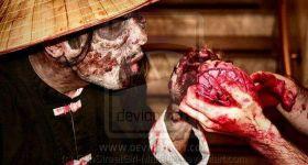 Зомби-грим