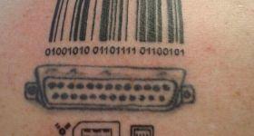 Татуировки в стиле КиберПанк