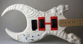 Гитара от Ктулху и Лавкрафта