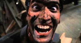 Герои фильмов ужасов смеются