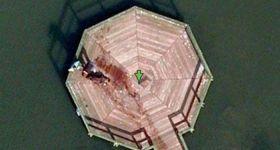 Труп на Google-карте
