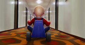 «Сияние» в стиле мультфильма «История игрушек»