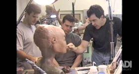 Создание инопланетян для Секретных материалов