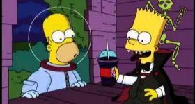 Бургер Кинг и игрушки Симпсонов в Хэллоуин