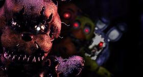 Аттракцион Five Nights at Freddy's пугает людей в реале