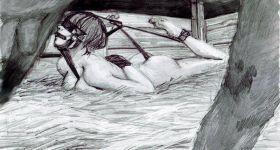 Жестокие рисунки на тетрадном листе