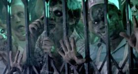 Зомби-реклама службы экспресс-доставки