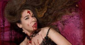 Кровавая мастурбация