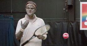 Зомби-теннисист рекламирует Skittles