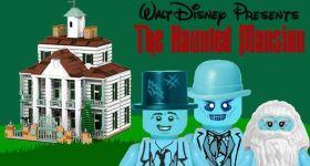 LEGO-дом с привидениями