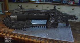 Создание автомата с бензопилой из Gears of War