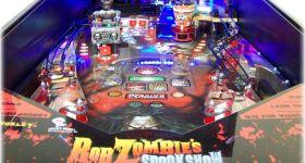 Пинбол-машина от Роба Зомби