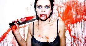 Линдси Лохан вся в крови