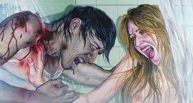 Шторы и занавески с зомби