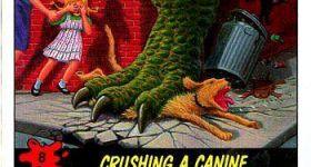 Атака динозавров на людей