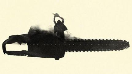 Орудие убийства на минималистических постерах к фильмам ужасов