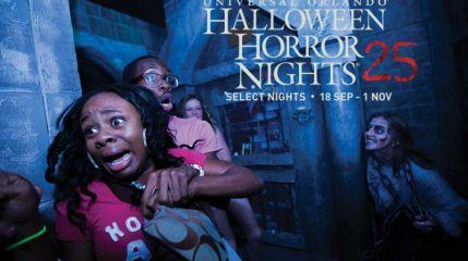 Лабиринты страха перенесут вас в фильм ужасов!