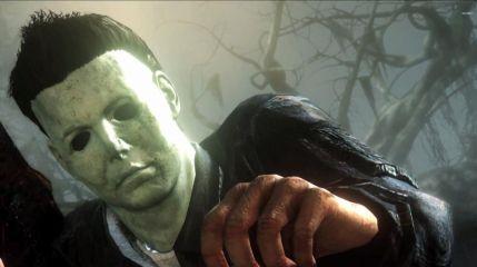 Майкл Майерс убивает Лори Строуд в игре Dead by Daylight
