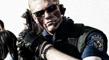 Косплей на полицейского S.T.A.R.S. из Resident Evil