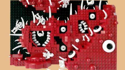 9 кругов LEGO-ада Данте