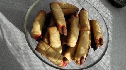 Печенье «Зомби пальцы»