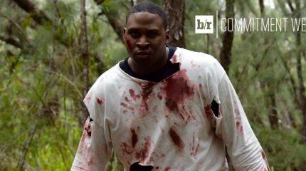 Футболист пиарится с помощью зомби
