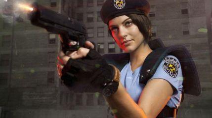 Джулия Вот в косплее на Resident Evil 0