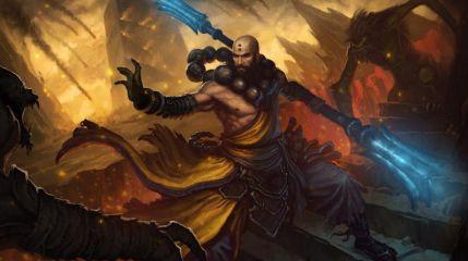 Монах рвется в бой в Diablo 3