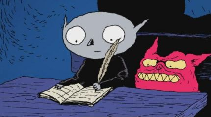 Маленький вампир очарует любителей мультфильмов
