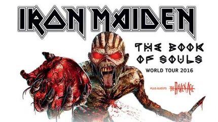 Постеры Iron Maiden запретили в Литве